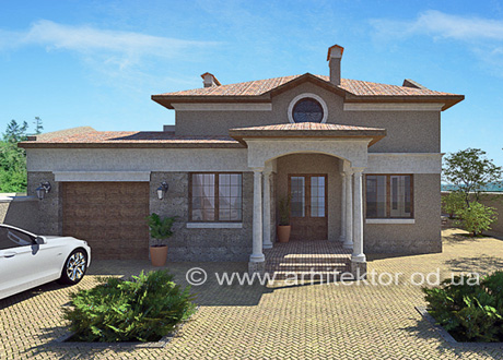 Дом в средиземноморском стиле - Портфолио