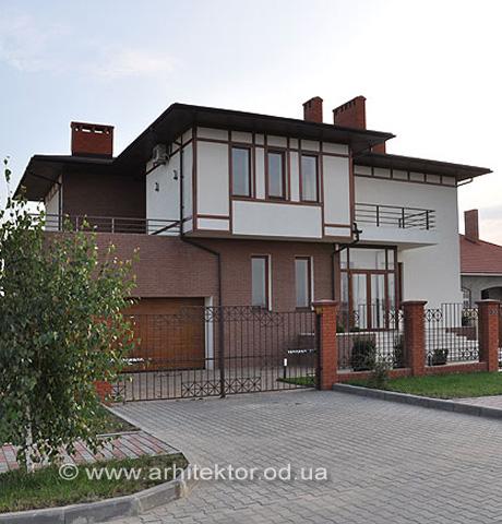 Двухэтажный жилой дом в жилмассиве Совиньон - Портфолио