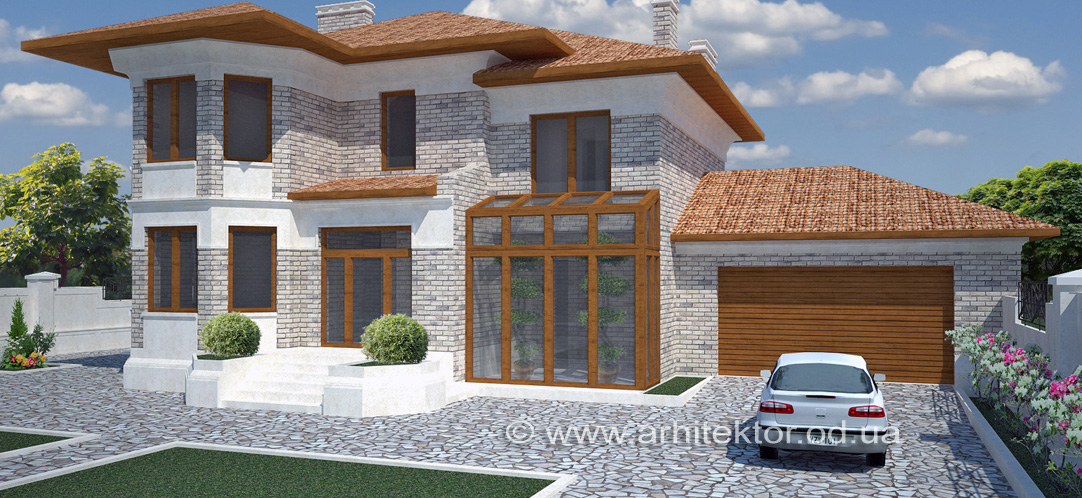 Дом в Фонтанке архитектурный проект