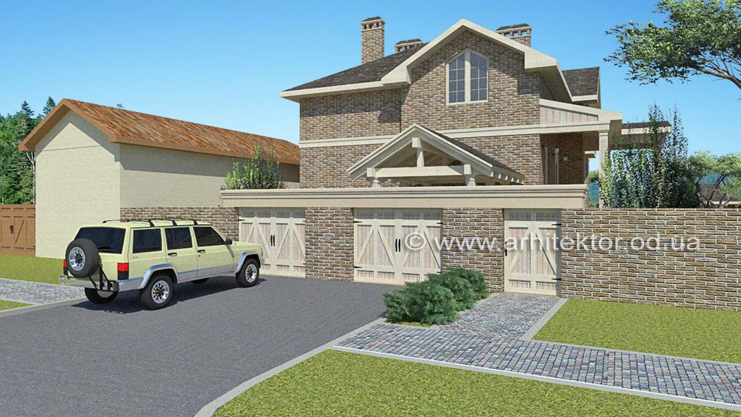Архитектурный проект Фермерский дом