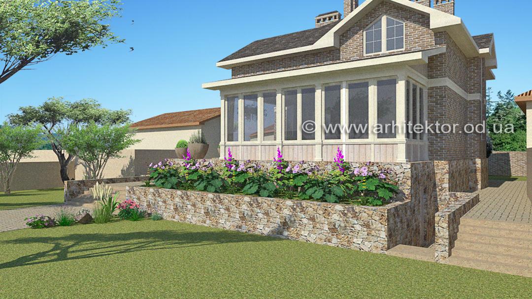 Индивидуальный проект дома Фермерский дом