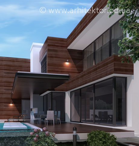 Проект дома в коттеджном поселке «Сосновый берег»  - Портфолио
