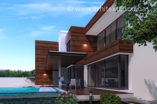Проект дома в коттеджном поселке «Сосновый берег»  - Описание