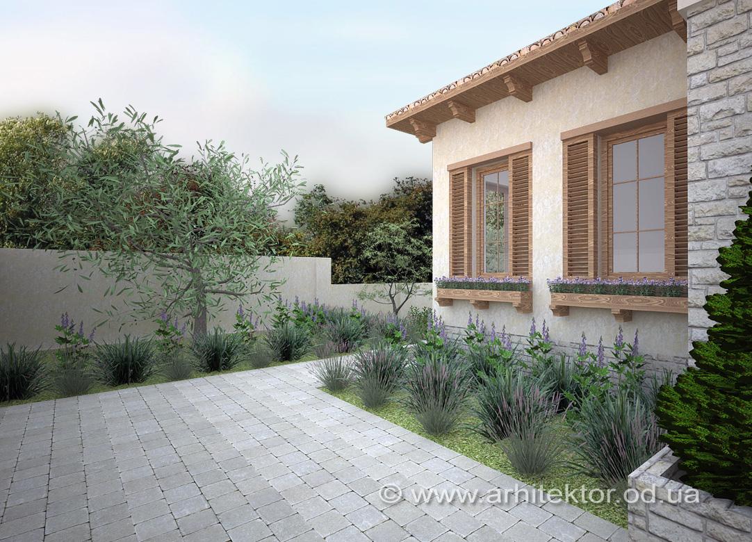 Архитектурное проектирование дома в тосканском стиле