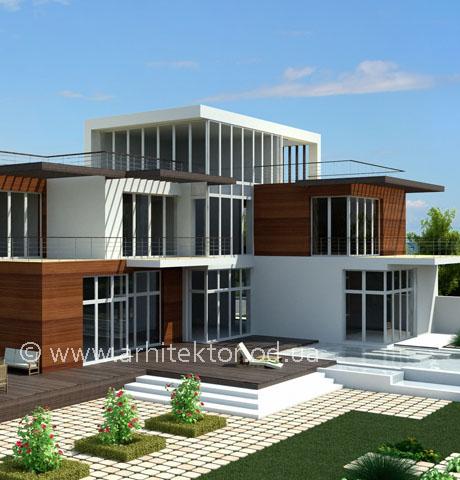 Проект двухэтажного дома в Одесской области  - Портфолио