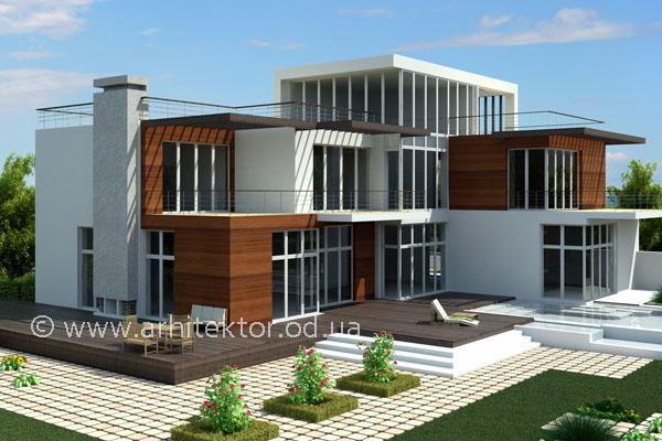 Проект двухэтажного дома в Одесской области  - Описание