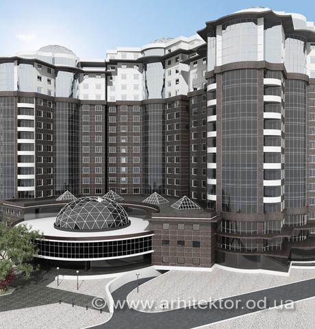Бизнес-центр в Одессе - Портфолио