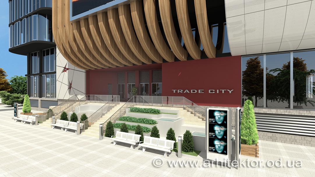 Проект реконструкции кинотеатра «Звездный» в Одессе - проект реконструкции