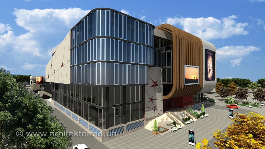 Проект реконструкции кинотеатра г. Одесса