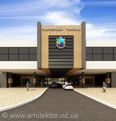 Проект микрорайона Морской с. Молодежное Овидиопольского района, Одесской области - Портфолио