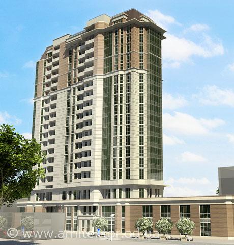 18 этажный жилой комплекс Кировоград - Портфолио